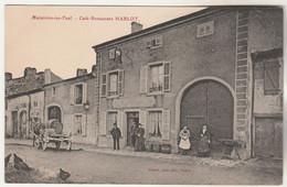 Cpa 54 Maizières-les-Toul Café-Restaurant Hablot - Other Municipalities