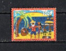 Timbre Oblitére De Polynésie Francaise 2007 - Usados