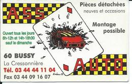 Carte De Visite - ASS AUTO - 60 BUSSY - - Other