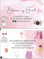 Carte De Visite - Bloomygirl.pro - 30220 Aigues-Mortes - Other