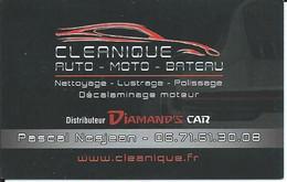Carte De Visite - CLEANIQUE - - Other