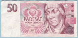 Czech Republic 1997 P#17a 50 Korun Series C - Tschechien