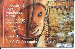 Carte De Visite - EXPOSITION  CERAMIQUE - 79210 ARCAIS - - Other