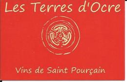 Carte De Visite - Les Terres D'Ocre - 03500 Chatel De Neuvre - - Other