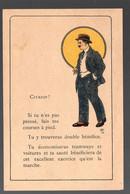 (guerre 39-45, Vichy Propagande) Papillon Anticonsumériste Illustré Couleur  Par LEMEUNIER  (PPP31548) - Unclassified