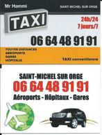 Carte De Visite - TAXI - 91240 Saint Michel Sur Orge - Other