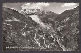 110458/ OBERGOMS, Blick Gegen Grimsel, Furka, Rhonegletscher Und Galenstock - VS Valais