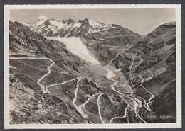 120964/ GLETSCH, Grimsel Und Furkastrasse Mit Rhonegletscher - VS Valais