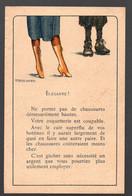 (guerre 39-45, Vichy Propagande) Papillon Anticonsumériste Illustré Couleur  Par LEMEUNIER  (PPP31549) - Unclassified