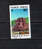 Timbre Oblitére De Polynésie Francaise  1991 N° 387 - Usati