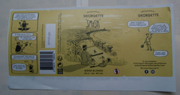 1  ETIQUETTE  De BIERE   GEORGETTE    ( Voir Description)) - Birra