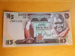 ZAMBIE 5 KWACHA 1980 UNC (P-25a) - Zambia