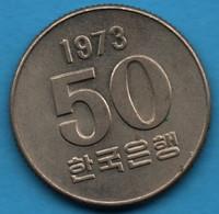 SOUTH KOREA 50 WON 1973 KM# 20 FAO - Korea, South