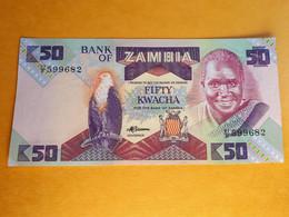 ZAMBIE 50 KWACHA 1986 UNC - Zambia