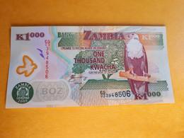 ZAMBIE 1000 KWACHA 2006 POLYMERE UNC - Zambia