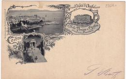 25674# CORFOU GRAND HOTEL D' ANGLETERRE BELLE VENISE JEAN GAZZI PROPRIETAIRE KORFU Pour KAYL LUXEMBOURG - Griekenland