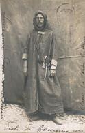 Real Photo French Tranvestite In Arab Zouave  Drole De Zouave  Agadir Soldat Travesti En  Zouave - Agadir
