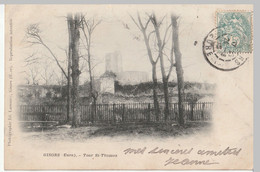 CPA [27] Eure > Gisors - Tour St Saint Thomas - Précurseur - Nuage - Gisors
