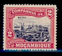 ! ! Mozambique Company - 1921 Local Motifs & Views 2 Esc - Af. 150 - MH - Mozambique