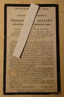 Soldaat Bekaert Richard - ° Melden - Gesneuveld Te Leke Bij Diksmuide 1916 - Vrijwilliger Oorlog - Oudenaarde