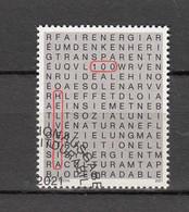 2021   N° 1821  OBLITERATION PREMIER JOUR   CATALOGUE ZUMSTEIN - Gebraucht