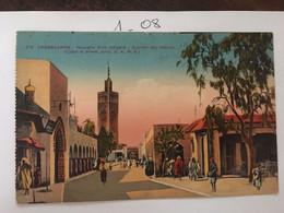 Cpa, Maroc, CASABLANCA Nouvelle Ville Indigène Quartier Des Habous, éd L.M, Non écrite - Casablanca