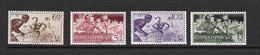 GUINEE ESPAGNOLE 1954 EN FAVEUR DES INDIGENES YVERT N°355/58 NEUF MH* - Guinée Espagnole