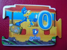 Magnet Danone  Gervais Le Train De Danonino N°0 Magnets - Letters & Digits