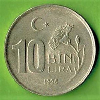 TURQUIE / 10 BIN LIRA / 1996  / SUP - Turkey