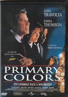 DVD  PRIMARY COLORS  Avec John Travolta  Etat: TTB Port 110 Gr Ou 30 Gr - Non Classificati