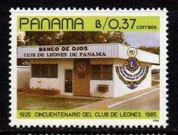P361C - PANAMA - 1987 - SC#: 709 - MH - 1ST PANAMANIAN EYE BANK - Panamá