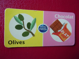 Magnet Petits Filous Olives Chocolat Magnets Olivos Olijven Oliven Cioccolato Chocolate Chocolade Suklaa Oliva Olijf - Advertising