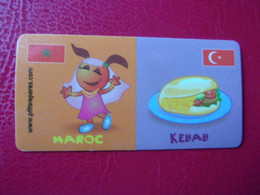 Magnet LECLERC Marque Repère Magnets Maroc Kebab Marokko Marocco Morocco Marakko - Advertising