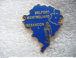 Pin's Arthus Bertrand, Vierge Marie, Belfort, Montbeliard, Besancon - Arthus Bertrand