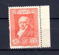 Espagne 1930, 100 Ans Mort De Goya, 419A**             Cote 25,-€ - Ongebruikt