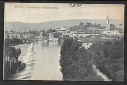 IVREA PANORAMA E LA DORA BALTEA VG. 1920 TORINO N°C151 - Autres Villes
