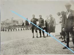 Photox2 OOSTENDE ABL Militaires 1929 Caserne Steenstraert Belgische Leger Kust - Lugares