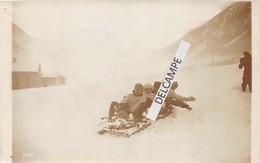 74 CHAMONIX  - Photo Originale Du Grand Concours International Du Club Alpin- Descente D'un Bobsleigh 1912 - Places