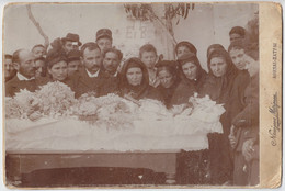 Antique Photo - Large - 24 X 16 Cm - Athen - Athens - Αθήνα / Patras - Πάτρα - Greece - Ελλάδα - Greek Funeral - Old (before 1900)