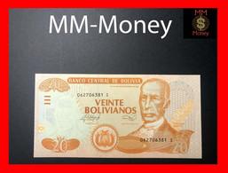 """BOLIVIA  20 Bolivianos 2014  P. 239 A  """"serie I""""  Printer DLR    UNC - Bolivia"""