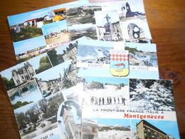 France Lot 200 Cartes Modernes Ou Semi Modernes Multivues  Quelques Scan - 100 - 499 Postales