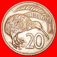 * GREAT BRITAIN: NEW ZEALAND ★ 20 CENTS 1967 KIWI BIRD! LOW START ★ NO RESERVE! - New Zealand