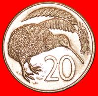 * CANADA: NEW ZEALAND ★ 20 CENTS 1985 KIWI BIRD! LOW START ★ NO RESERVE! - New Zealand