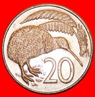 * AUSTRALIA: NEW ZEALAND ★ 20 CENTS 1988 KIWI BIRD!  LOW START ★ NO RESERVE! - New Zealand