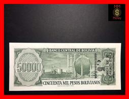 BOLIVIA 5 Centavos  Overprint On 50.000  50000 Pesos Bolivianos   D.S. 5.6.1984   P. 196    UNC - Bolivia