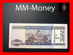 BOLIVIA 1 Centavo  Overprint On  10.000  10000 Pesos Bolivianos   D.S. 10.2.1984   P. 195    UNC - Bolivia