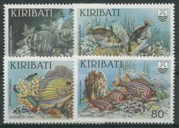 Kiribati 1985 Fische Im Korallenriff 451/54 Postfrisch - Kiribati (1979-...)