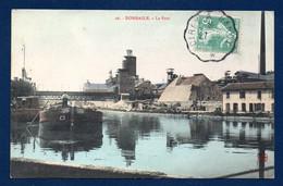 54. Dombasle Sur Meurthe. Le Port Et Les Usines Solvay. Péniche Solférino, Saarburg . 1920 - Other Municipalities
