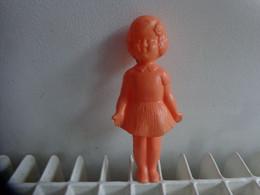 Poupee (petite) Plastique - Vintage H 17cm - Non Classificati