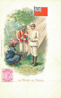 H1209 - Illustrateur - LA POSTE Au NATAL - Timbres (représentations)